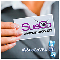 SueCo Virtual Assistance - Managing your day, so you can manage your business!